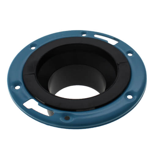 "4"" x 3"" SPG x SPG ABS Adjustable Closet Flange (58512A) Product Image"