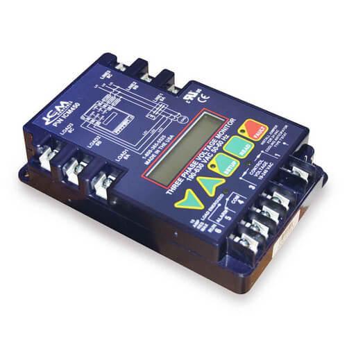 icm450 icm controls icm450 icm450 3 phase line voltage walk-in cooler wiring-diagram