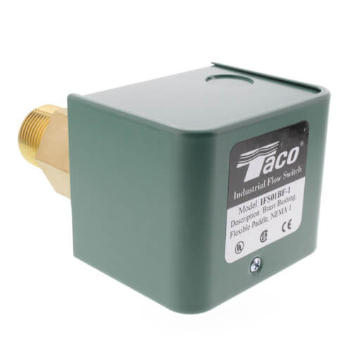 Brass Flow Switch w/ Flexible Paddles (Single Switch) Product Image