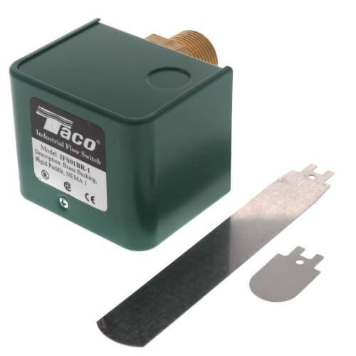 """1"""" Brass Flow Switch w/ Rigid Paddles (Single Switch) Product Image"""
