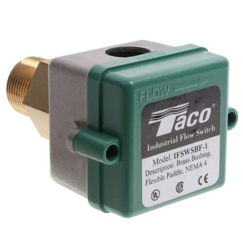 Brass Flow Switch w/ Flexible Paddles (NEMA4, Small Turning Radius) Product Image