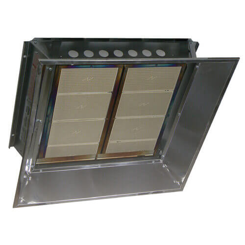 IHR High Intensity Gas Fired 1 Stage Infrared Unit Heater - 60,000 BTU (Millivolt, NG) Product Image