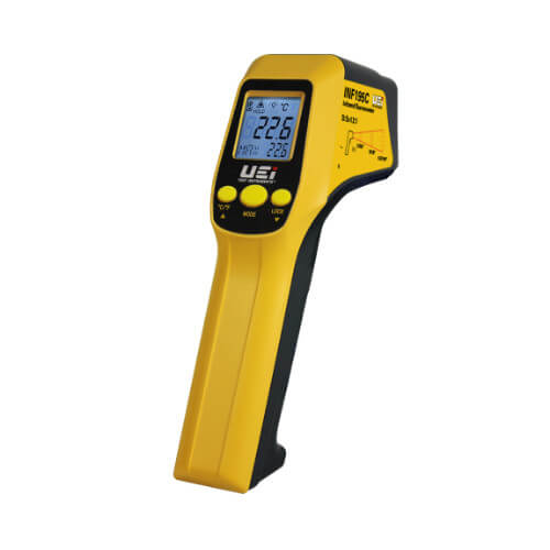 INF195C, 12:1 Infrared Thermometer with K-Type Input Product Image