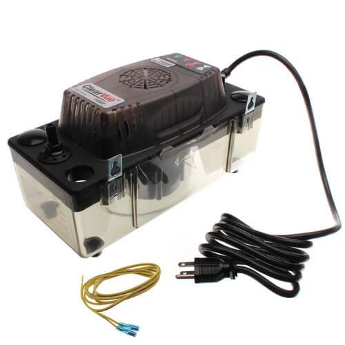 ClearVue Condensation Pump w/ Tubing, Variable Speed Pump & Floatless Sensor (120V) Product Image