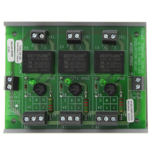 Isolation Relay for Up to 3 Zones Product Image