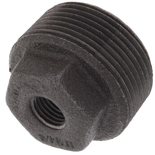 "1-1/4"" x 3/8"" Black Bushing w/ Inside Head Product Image"