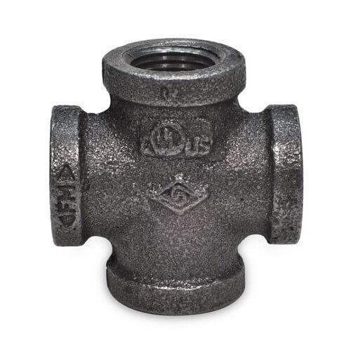 "3/8"" Black Cross Product Image"