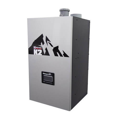 K2-180 147,000 BTU Output Stainless Steel Gas-Fired Condensing Boiler (NG) Product Image