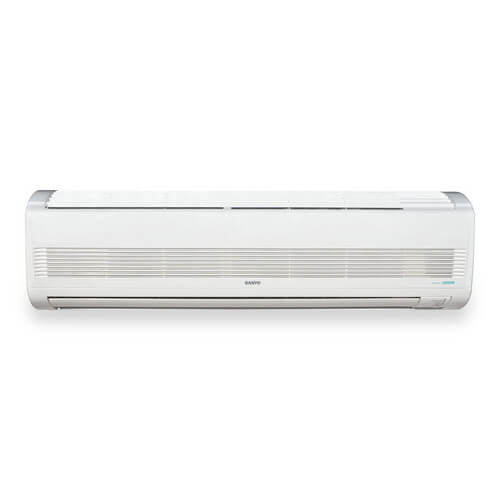 Heat Air Conditioner Wall Unit : Khs sanyo  btu ductless mini split