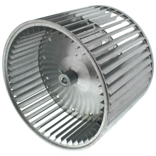 """10-5/8"""" Convex Double Inlet Blower Wheel with Direct Drive, CW (1/2"""" Bore) Product Image"""