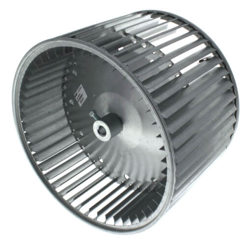 "10-5/8"" Convex Double Inlet Blower Wheel with Direct Drive, CW (1/2"" Bore) Product Image"