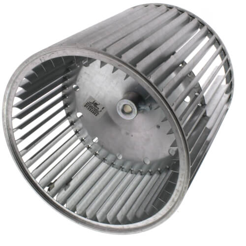 """9-1/2"""" Concave Double Inlet Blower Wheel with Direct Drive, CCW (1/2"""" Bore) Product Image"""
