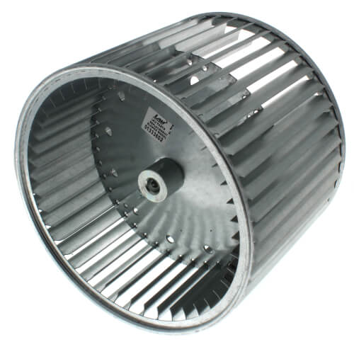 """9-1/2"""" Convex Double Inlet Blower Wheel with Direct Drive, CW (1/2"""" Bore) Product Image"""