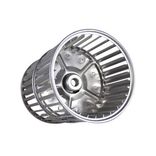 "5-3/4"" Double Inlet Blower Wheel  (1/2"" Bore) Product Image"