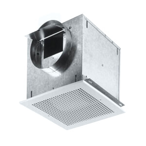 """L100MG Ceiling Mount Ventilation Fan w/ Metal Grille, 6"""" Round Duct (115 CFM) Product Image"""
