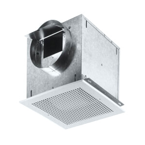 """L200MG Ceiling Mount Ventilation Fan w/ Metal Grille, 8"""" Round Duct (215 CFM) Product Image"""
