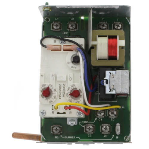 High Limit Protection, Low Limit & Circulator Triple Aquastat Relay, on honeywell ra89a wiring schematic, honeywell gas valve wiring, honeywell boiler relays, honeywell thermostat relay,