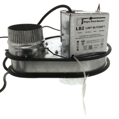 LB2 Residential Capacity Dryer Duct Booster Fan Product Image