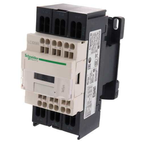 Square D Company LC1D09FE7 3Pole 9Amp N//O Contactor