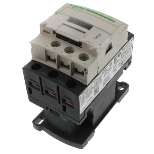 1N.O./1N.C. Contactor, 3P, 12A (120V) Product Image
