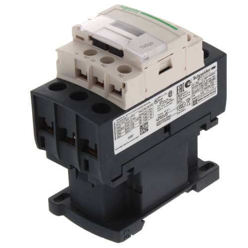 1N.O./1N.C. Contactor, 3P, 32A (24V) Product Image