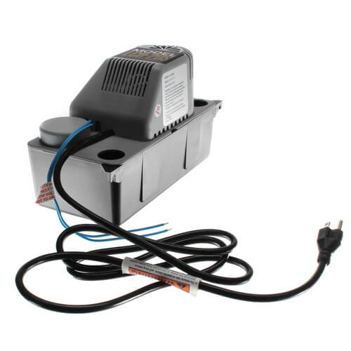 1/30 HP Automatic Condensate Removal Pump w/ Safety Switch, 6 ft Cord (115V) Product Image