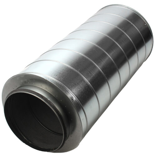 "Galvanized Steel Silencer for 12"" Duct Product Image"