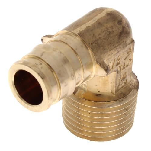 1//2 ProPEX x 1//2 MIP Lead Free Brass Elbow {LF4125050}