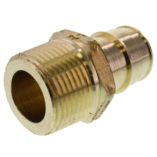 """1-1/4"""" ProPEX x 1-1/4"""" NPT Brass Male Adapter Product Image"""