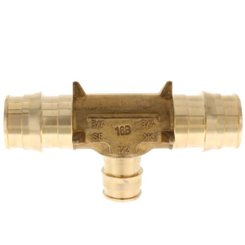 """Uponor Pro Pex Reducing Tee-1//2""""x1//2""""x3//4"""" New!"""