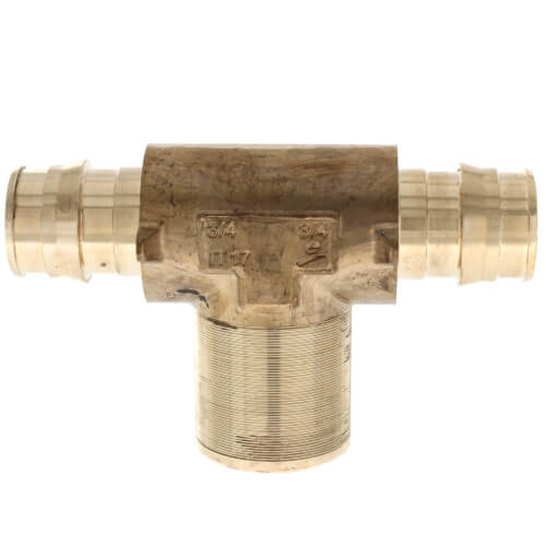 """3/4"""" ProPEX x 3/4"""" ProPEX x 1/2"""" FNPT LF Fire Sprinkler Adapter Tee Product Image"""