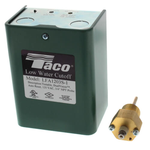 Electronic, (120V) Auto Reset Low Water Cut-Off (Water) Product Image