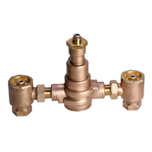 "1-1/4"" HydroGuard XP Supply Fixture, Rough Bronze (60°-90°F) Product Image"