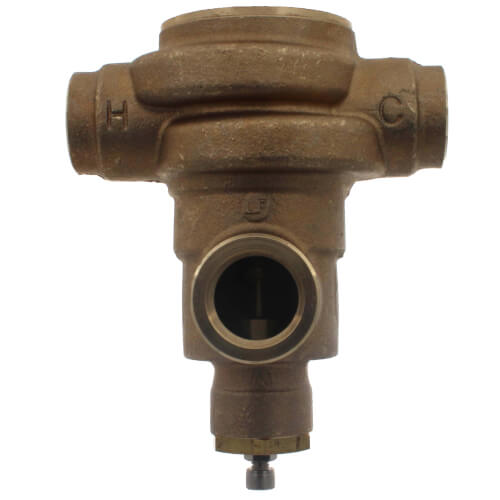 """1-1/4"""" HydroGuard XP Supply Fixture, Rough Bronze (90°-160°F) Product Image"""