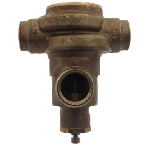 "1-1/4"" x  1-1/2"" HydroGuard XP Supply Fixture, Rough Bronze (90°-160°F) Product Image"