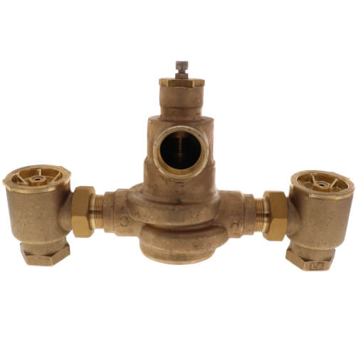 """1-1/4"""" x  1-1/2"""" HydroGuard XP Supply Fixture, Rough Bronze (60°-90°F) Product Image"""