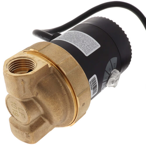 """E1-BCTVNN1W-06 E Series, Circulating Pump w/ Adjustable Speed and Plug (1/2"""" FPT) Product Image"""