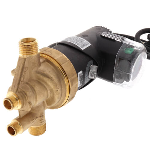 "E1-BCANRT1W-06 Autocirc E1 Series, Recirculating Pump w/ Adjustable Thermostat & Timer (77°F 91°F) (1/2"" NPT)  Product Image"