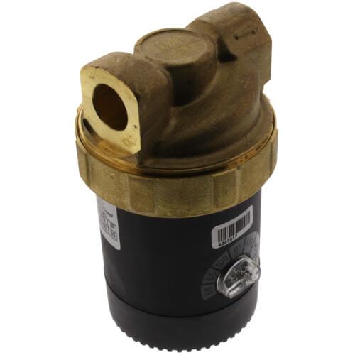 "Ecocirc Circulator w/ Adjustable Thermostat, Lead Free Brass (1/2"" Sweat) Product Image"