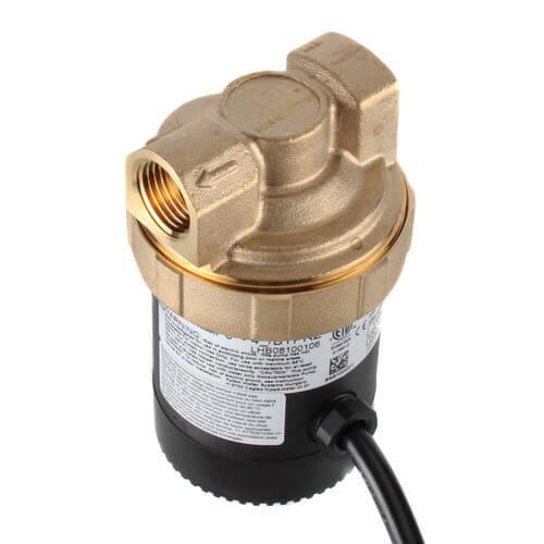 "Ecocirc Circulator w/ Adjustable Thermostat & Plug, Lead Free Brass (1/2"" FPT) Product Image"