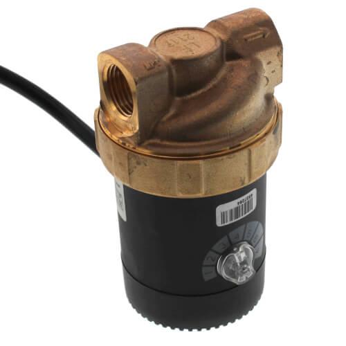 "Ecocirc Circulator w/ Multi-Speed & Plug, Lead Free Brass (1/2"" FPT) Product Image"