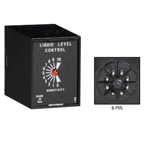Octal Plug-In Liquid Level Control, Fill Operation (120V) Product Image