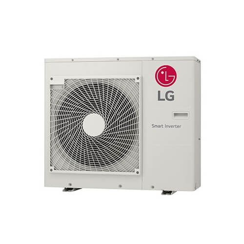 18,000 BTU Multi F Inverter Heat Pump w/ LGRED, 2 Zone (Outdoor Unit) Product Image