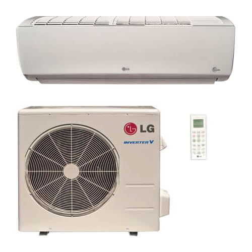 18,000 BTU Ductless Single Zone Air Conditioner/Inverter Heat Pump Package w/ Built In WiFi Product Image