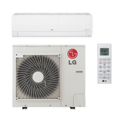 36,000 BTU 18.5 SEER Improved Efficiency Inverter Heat Pump w/ Wi-Fi - Long Piping - Package Product Image