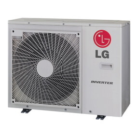 18,000 BTU 18.8 SEER High Static Ducted Single Zone Heat Pump (Outdoor) Product Image