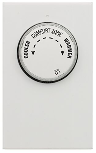 Non-Programmable Single Pole, Line Voltage Heating Only Mechanical Thermostat Product Image