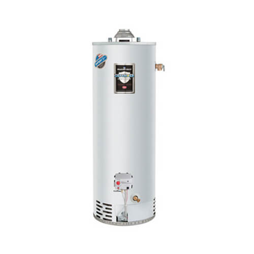 Rg240s6n Bradford White Rg240s6n 40 Gallon 40 000 Btu Defender Safety System Atmospheric Vent Energy Saver Residential Water Heater Nat Gas