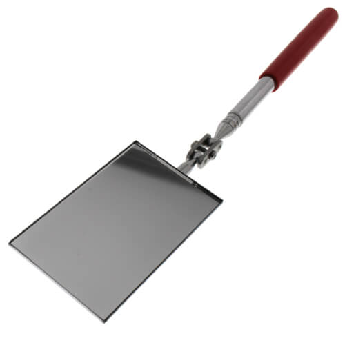 """Inspection Mirror - 2-1/8"""" Rectangular - Extends 11-1/4"""" to 15-1/4"""" Product Image"""