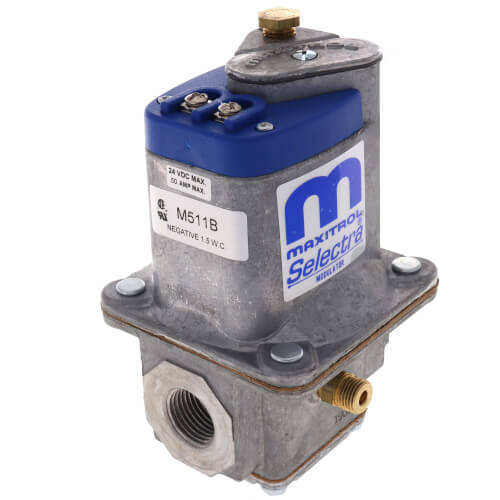 """1/2"""" Modulating Gas Valve w/ Vent Tap on Both Sides Product Image"""